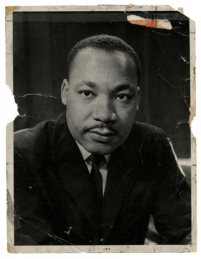 Dr. Martin Luther King Jr.  (Allyn Baum/The New York Times)