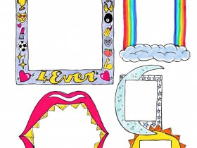 Saturday Printable: Picture Frames