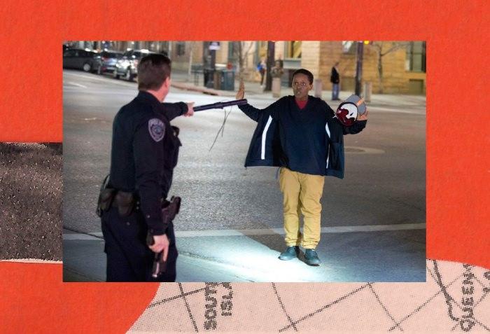Collage by Ruby Aitken, using a photo via The Salt Lake Tribune.