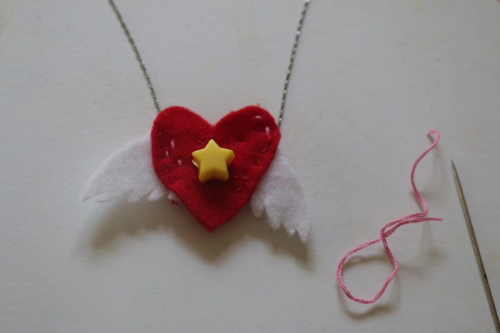 rookie heart necklace diy 019
