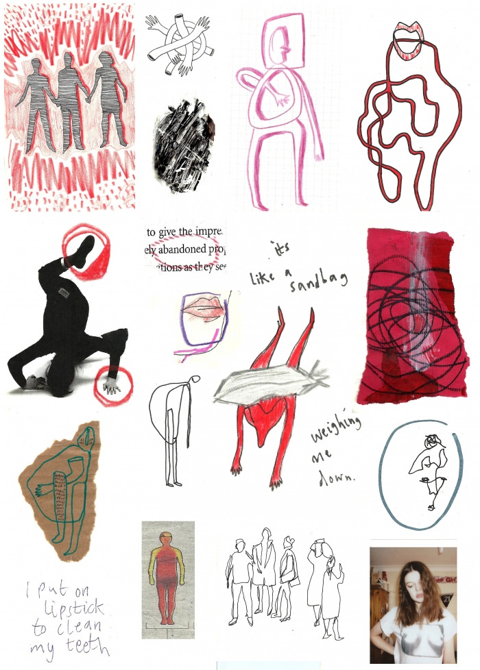 """Here is a random jumble of stuff from my journals"" —Caitlin H."