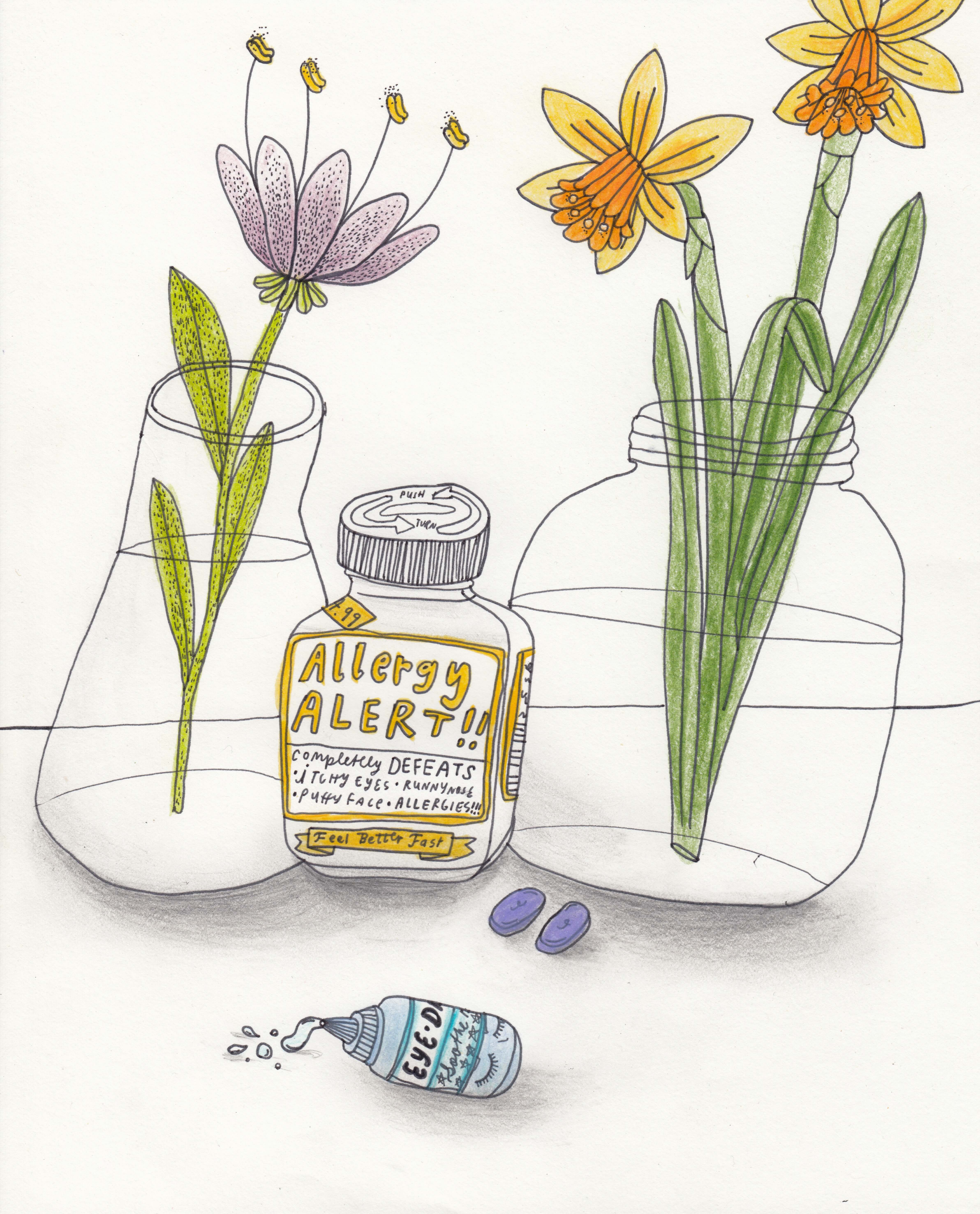 I'm trying to enjoy spring, but seasonal allergies are making it hard. —Lucia