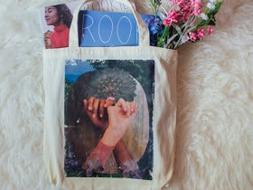 How to Make a Collaged Tote Bag