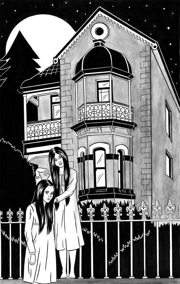 Illustration via Oyster Mag.