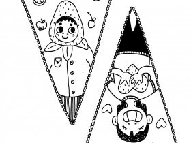 Saturday Printable: Pennants