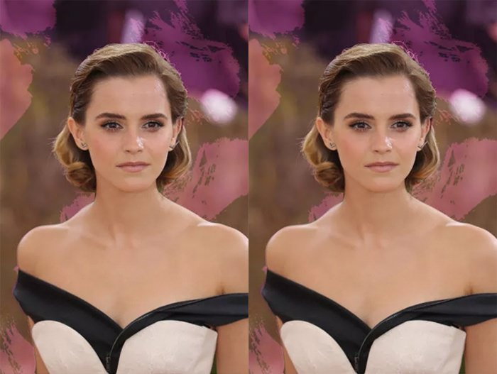 Photo of Emma Watson via NYLON.
