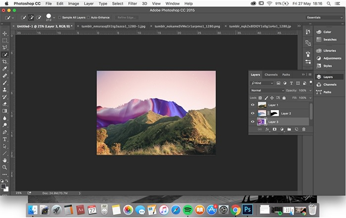Rookie » How to Make a Collage in Photoshop