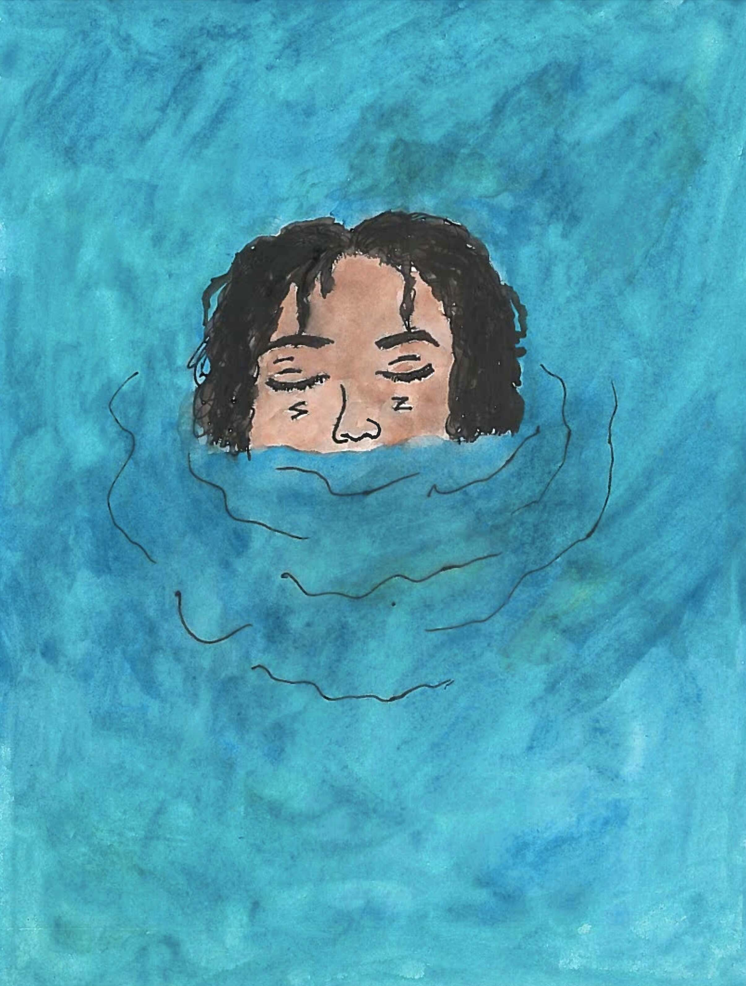 I've been swimming a lot. —Amil