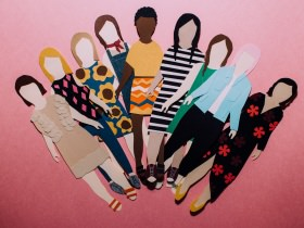 DIY Paper Doll Friends