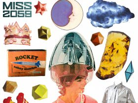 <em>Miss 2059</em> Collage Kit