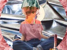 <em>Miss 2059</em> Collages