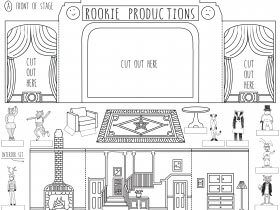 Saturday Printable: Pop-Up Stages