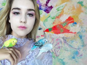 How to Do Watercolor Makeup