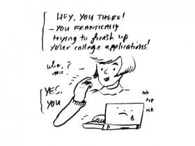 Sunday Comic: Adventures in College Admissions Essay Writing