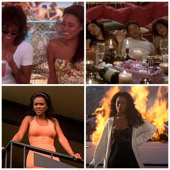 Waiting to Exhale style.