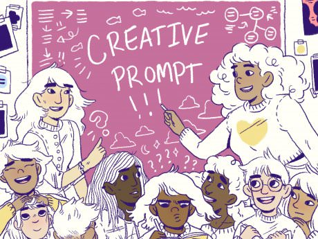 Creative Prompt: Get Ghostly