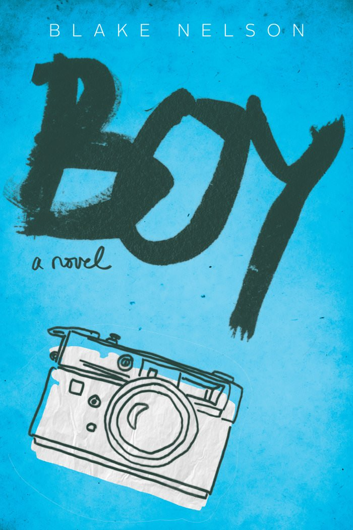 Here's an early peek of the cover of Boy.