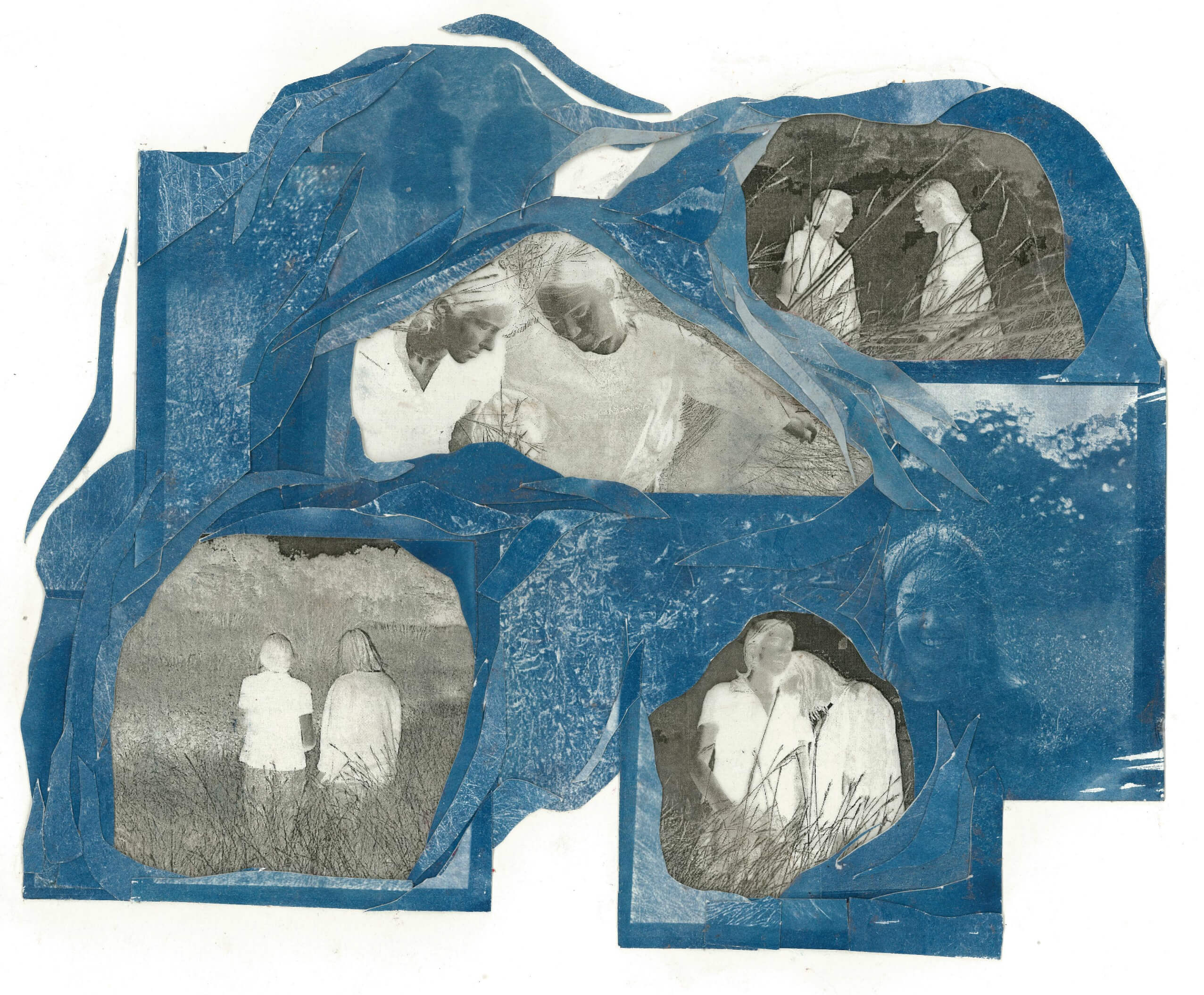 Fun times with cyanotype. —Ella