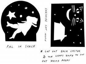 Saturday Printable: Shadow Casters