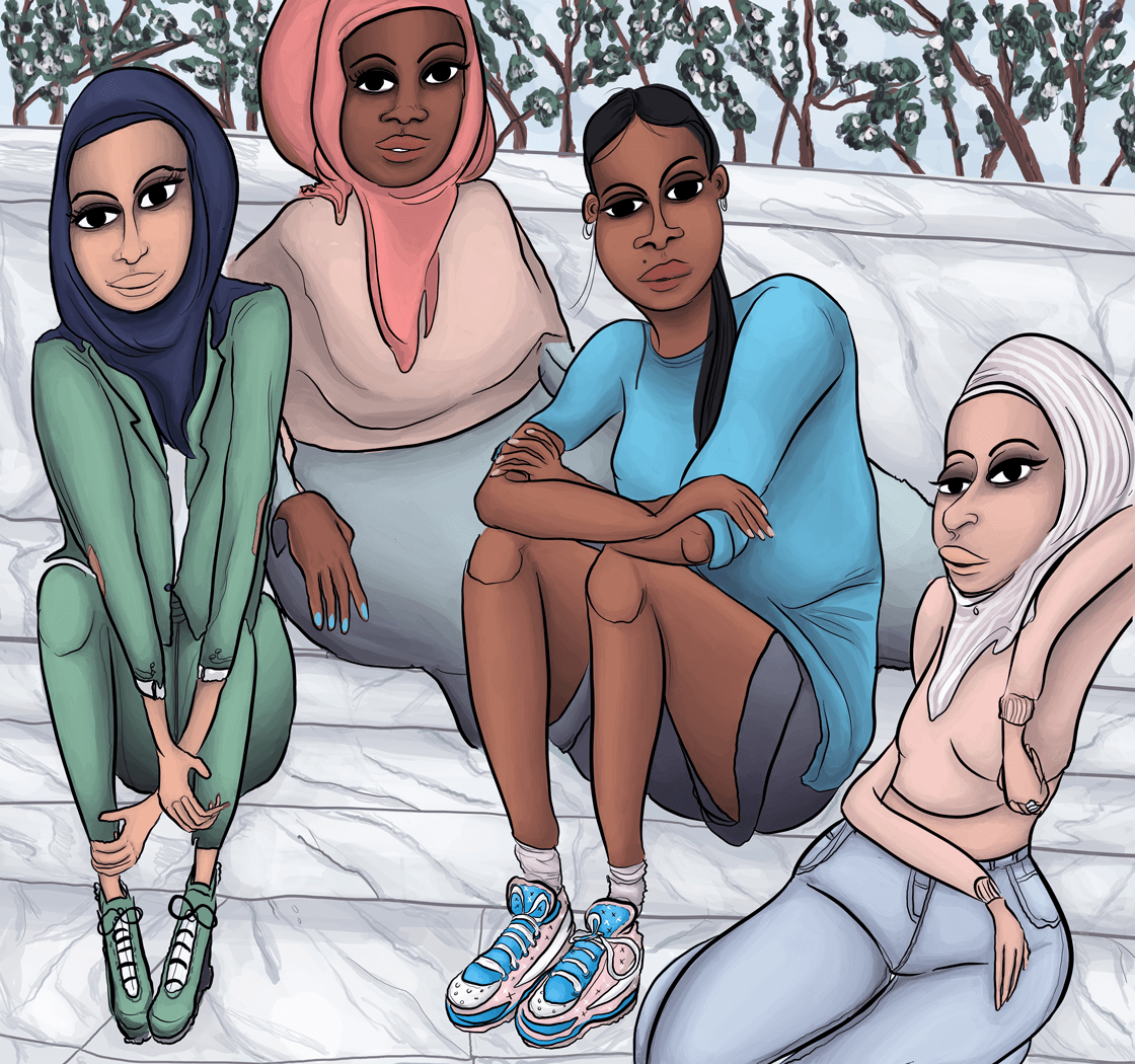 """Muslim Mamis"" by Mojuicy."