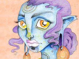 Bad Girl Painter: Zoë Kimball