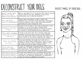 Saturday Printable: Deconstruct Your Idols