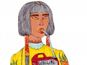 Bad Girl Painter: Panteha Abareshi