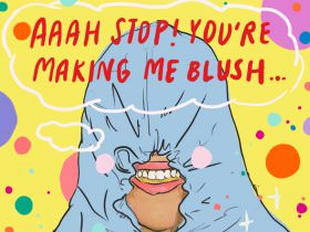 Sunday Comic: You're Making Me Blush