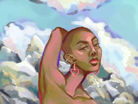 Bad Girl Painter: Laurena Finéus
