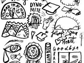 Printable Graduation Stickers