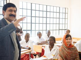 Ask a Grown Man: Ziauddin Yousafzai