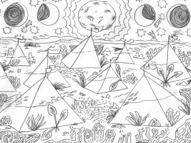 Printable: Otherworldly Coloring Pages