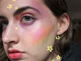 Makeup Trick: Björk's <em>Utopia</em> Album Cover