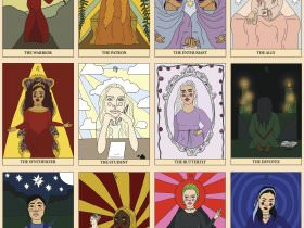 Printable: Zodiac Tarot Cards