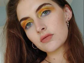Makeup Trick: Van Gogh's Sunflowers