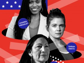 A Mandate for Hope: Interviews with Ayanna Pressley, Sarah Smith, and Deb Haaland