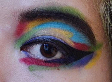 How to Make Your Face a Rainbow